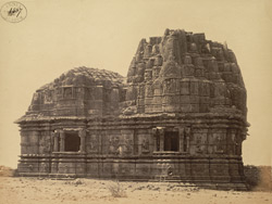 Side view of the Surya Narayana Temple, Somnath (Prabhas Patan)